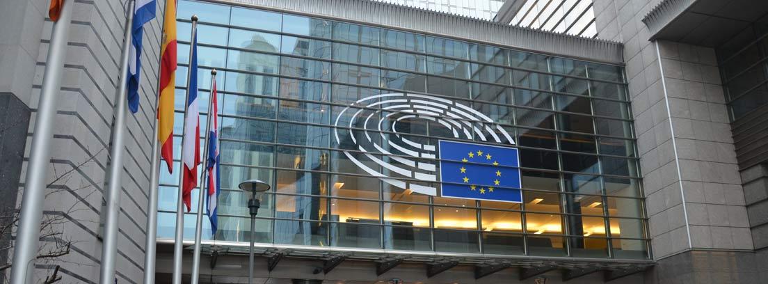 Edificio del Parlamento Europeo en Bruselas