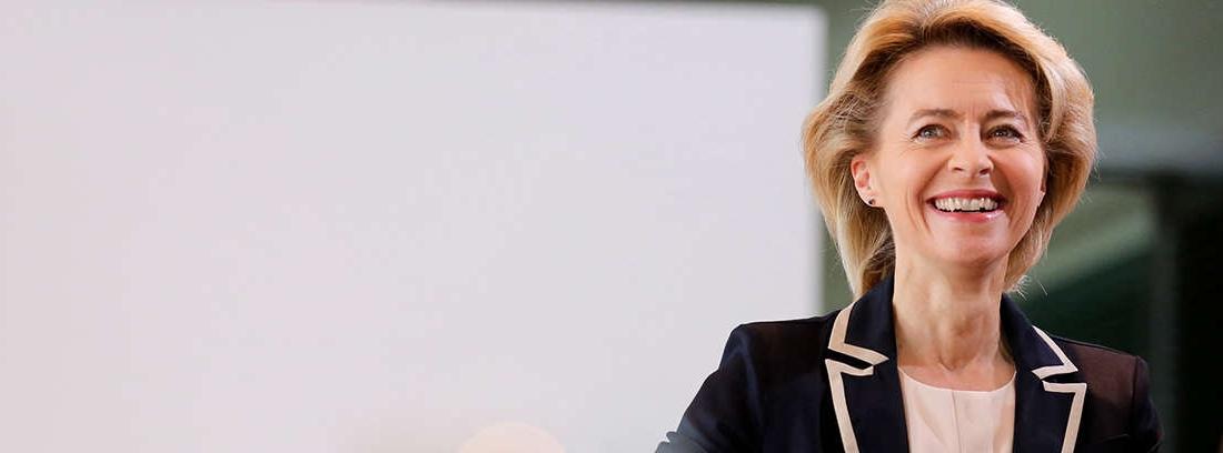 La ministra alemana de trabajo en 2012