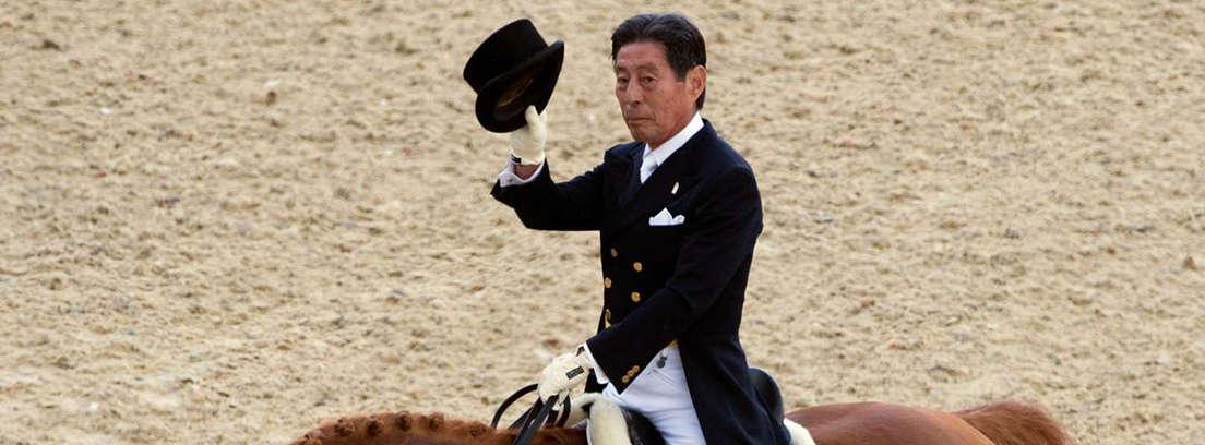 Hiroshi Hoketsu participará en los Juegos Olímpicos 2012  (Foto: AP)