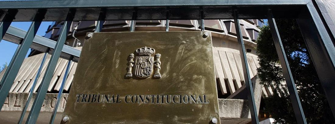 Placa del Tribunal Constitucional