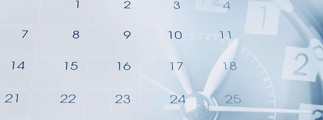 reloj que te indica la jubilación anticipada por desempleo