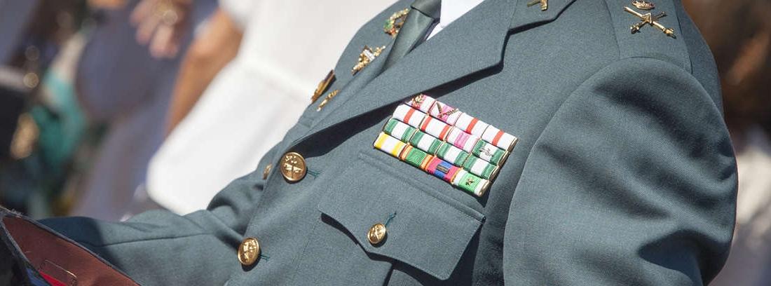 sistema de Reserva y jubilación para la Guardia Civil