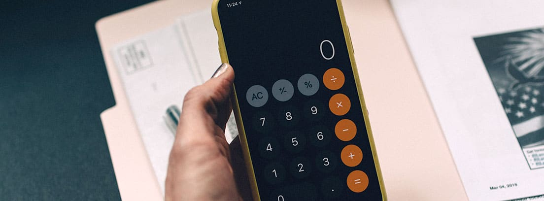 Calculadora de smartphone