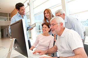Desempleados mayores de 55 años en formación