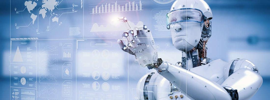 Brazo robótico trabajando en la industria