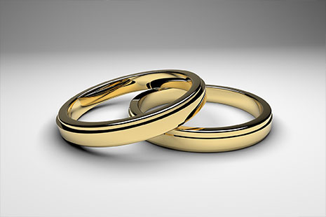 Dos alianzas de oro