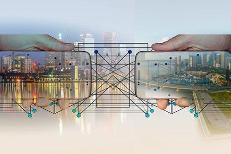 Teléfonos móviles permitiendo potenciar el social networking