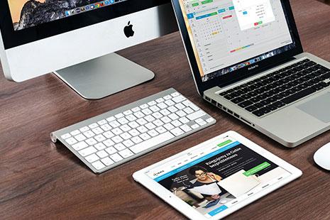 Ordenador, portátil y iPad