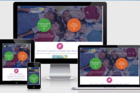 Varias pantallas con la web de la FEFN
