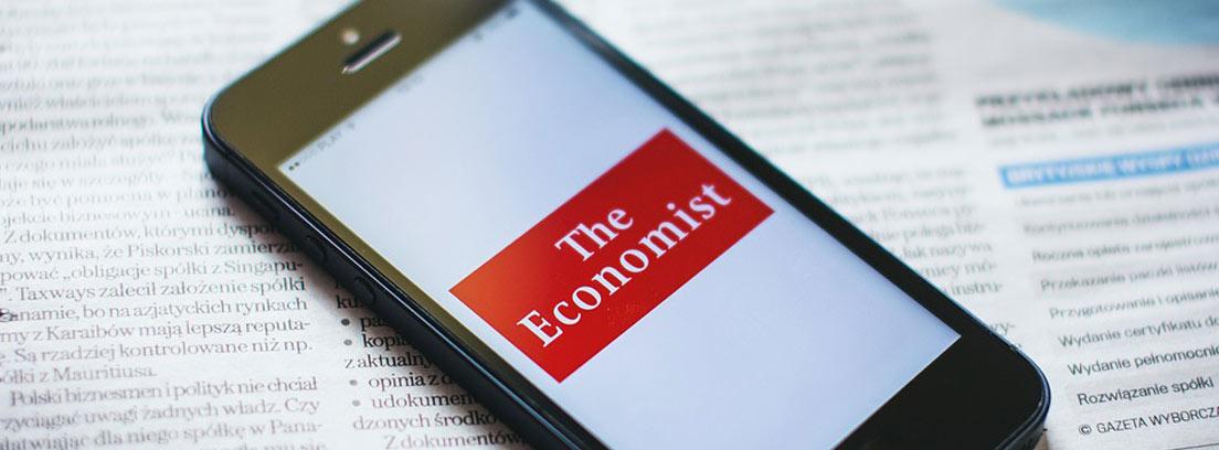 versión web de The Economist