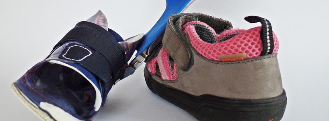 zapatos y prótesis ortopédicas
