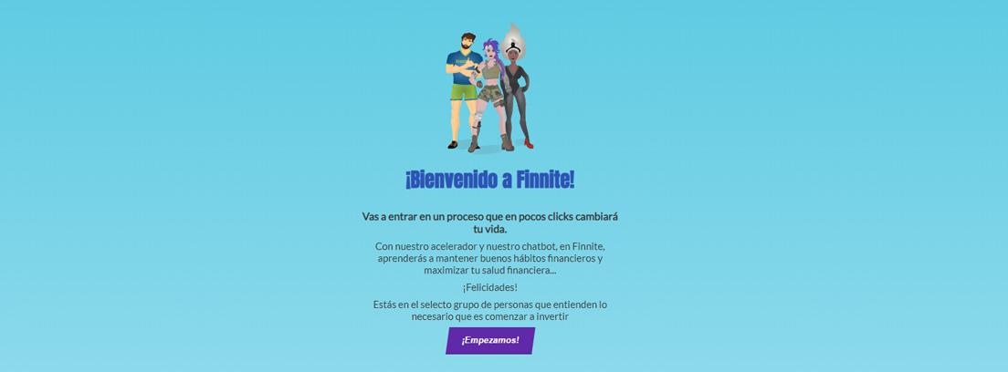 portada página web Finnite