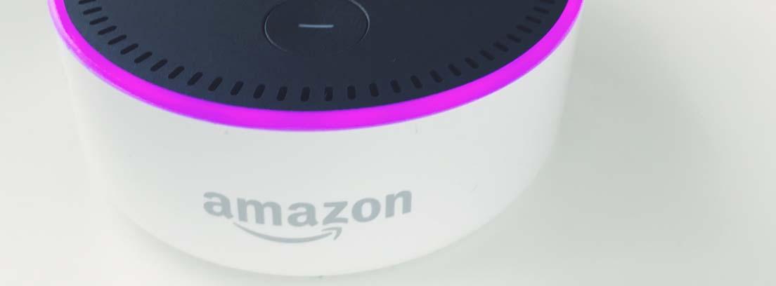 Asistente de voz Dot de Amazon