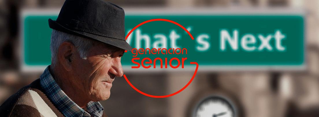 hombre mayor con sombrero