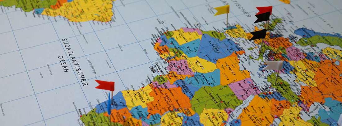 Mapa de la deuda pública de los países