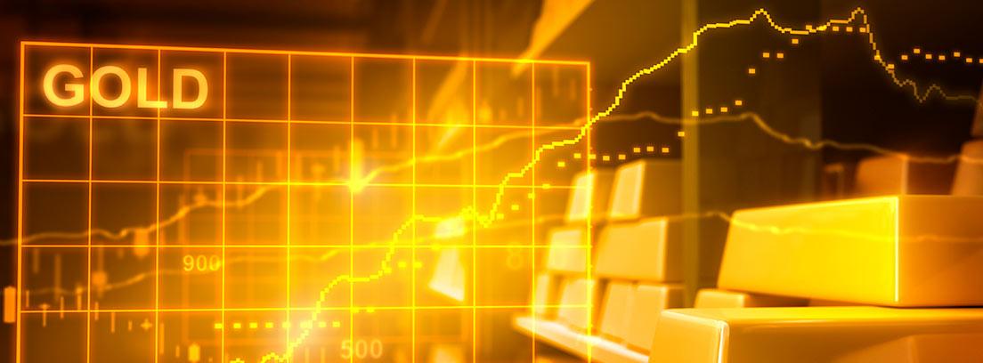 El precio de la onza de oro llegó a dispararse por encima de los 1.900 dólares en el mercado