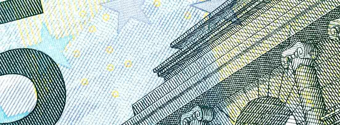 Un billete de cinco euros