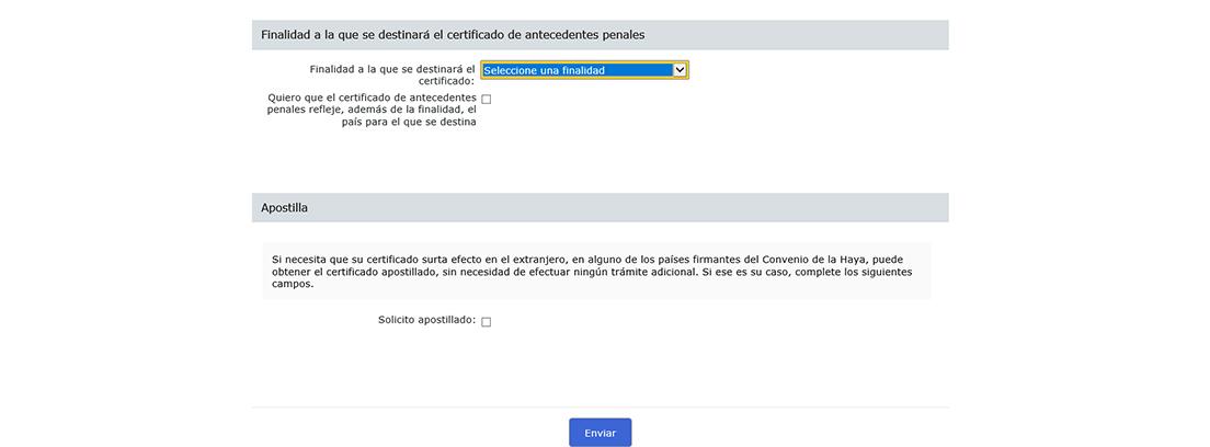 Captura de pantalla del certificado