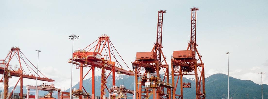 Puerto comercial europeo