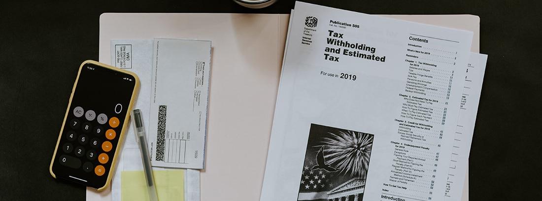 Impreso para la presentación de impuestos en Estados Unidos