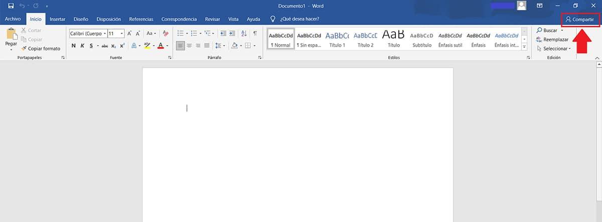 Pantallazo de un documento de Word