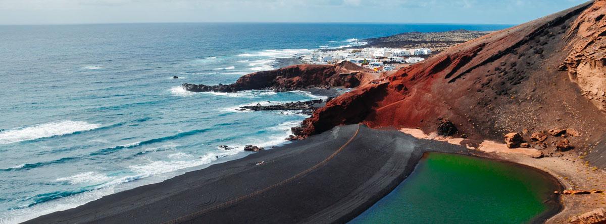 Playa en Lanzarote