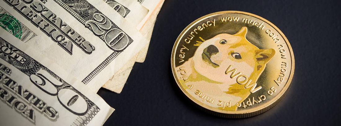 Dogecoin y dólares